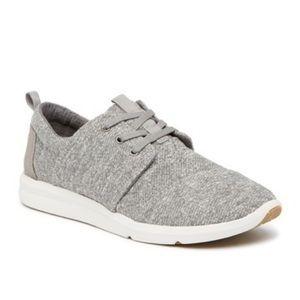 Toms Del Rey Grey Marled Sneakers